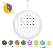 Baby Weiß Noise Maschine USB Aufladbare Timed Abschaltung Sound Maschine Schlaf Schnuller Entspannung Monitor Für Baby Erwachsene Büro