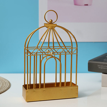 Creative Mosquito Coil Holder Nordic Style Birdcage Shape Summer Day Iron Mosquito Repellent Incenses Rack Plate Home Decoration 3