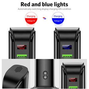 Image 5 - USLION 5 Port Multi USB Charger LED Display USB Charging Station Universal Mobile Phone Desktop Wall Home Chargers EU US UK Plug