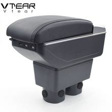 Storage-Box Tiida-Accessories Nissan Arm-Rest Center-Console 2008 Vtear for Latio Car