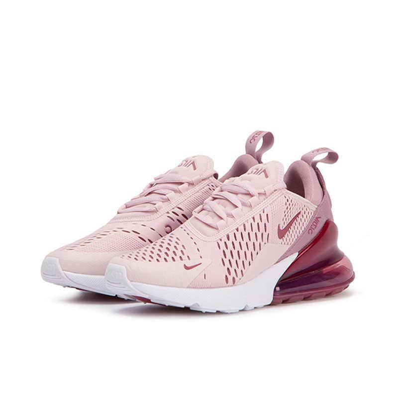 الأصلي أصيلة نايك الهواء ماكس 270 المرأة احذية الجري الرياضة في الهواء الطلق دائم تنفس أحذية رياضية مصمم الأحذية AH6789-601