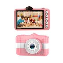 Камера для селфи игрушки для малышей Шаржа 3.5 дюймов 1080 P мини-цифровых камер записи видео дети девочка мальчик день рождения подарок