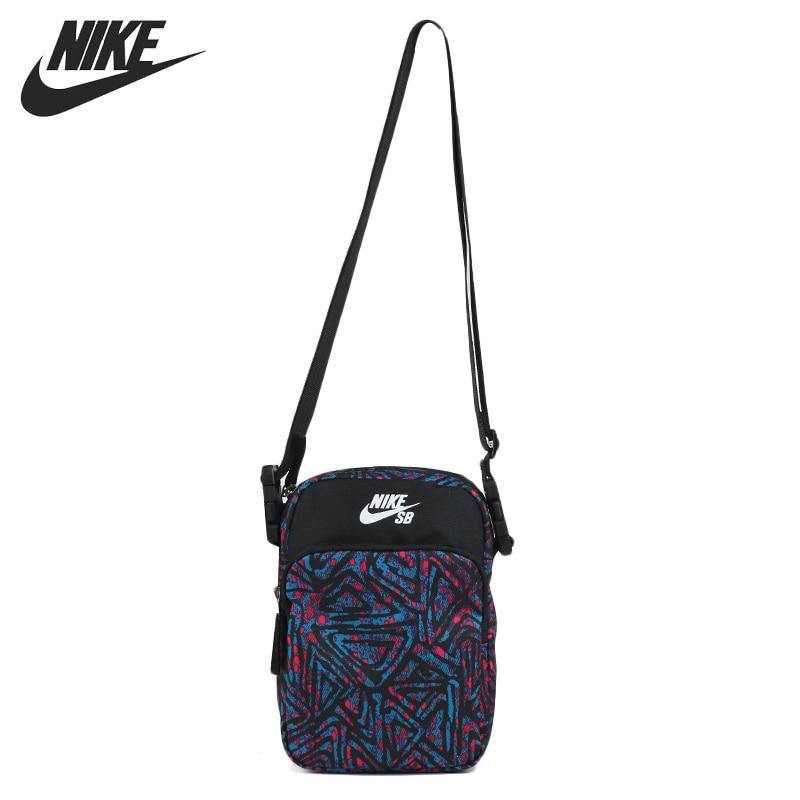 Original New Arrival  NIKE NK SB HERITAGE SMIT - 2.0 AOP  Unisex  Handbags Sports Bags
