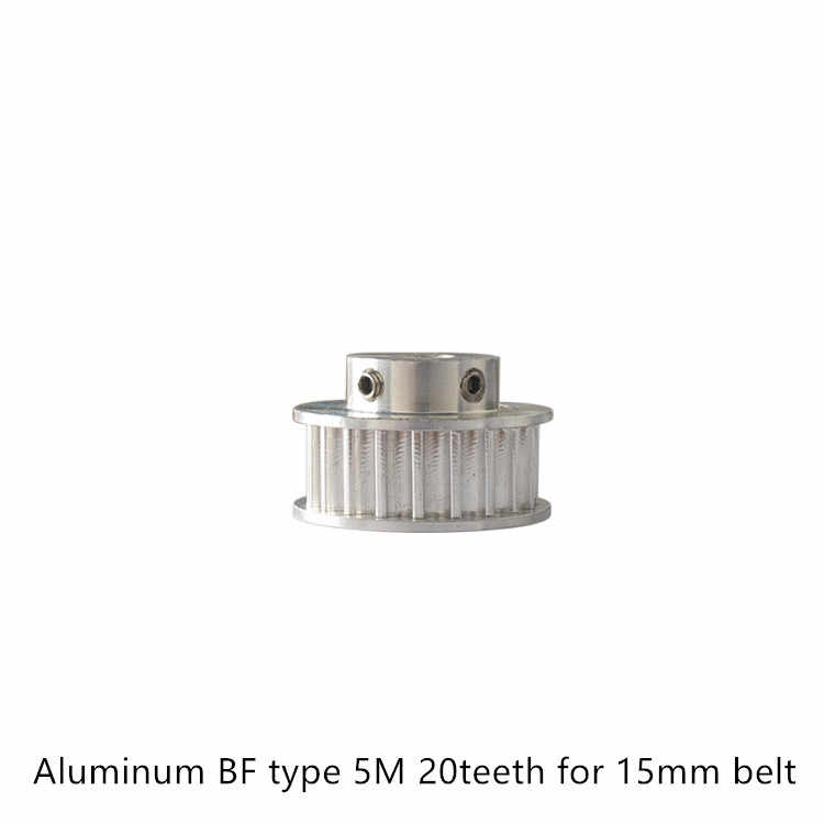 Typ BF 20 zęby 5M koło rozrządu otwór 8mm 14mm dla HTD5M paska 15mm używany w liniowym koło pasowe 20 zęby 20T