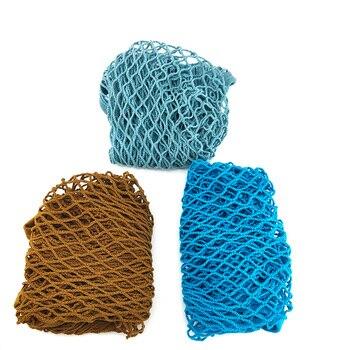 Sac de courses réutilisable | Sac d'épicerie en coton, fourre-tout en filet tissé à maille, sac à bandoulière en filet de bonne qualité 2