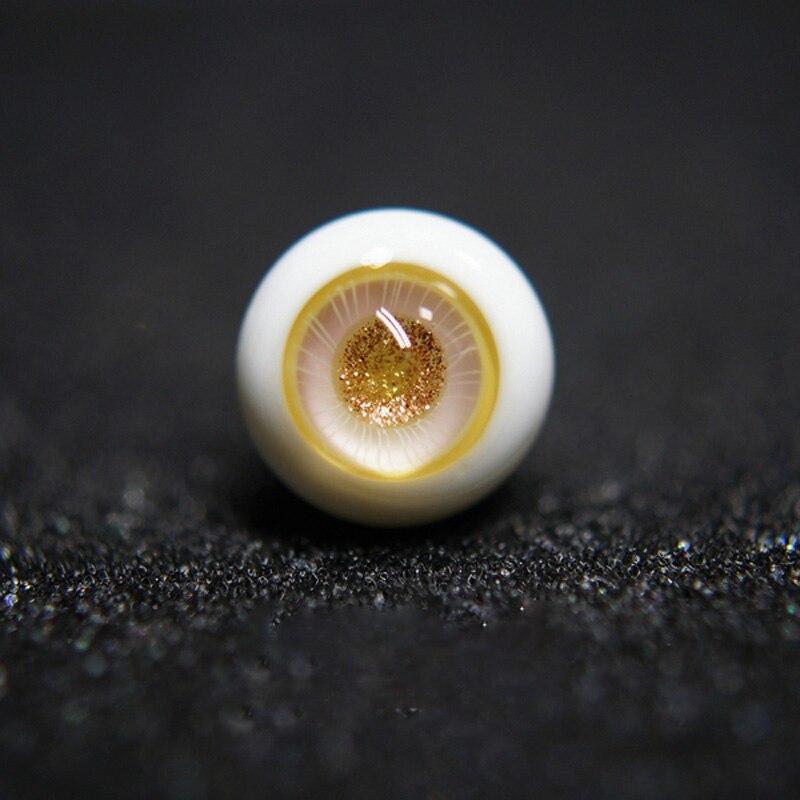 Bjd Eyes 12mm/14mm/16mm Glass Eyeball For 1/6 Bjd Doll