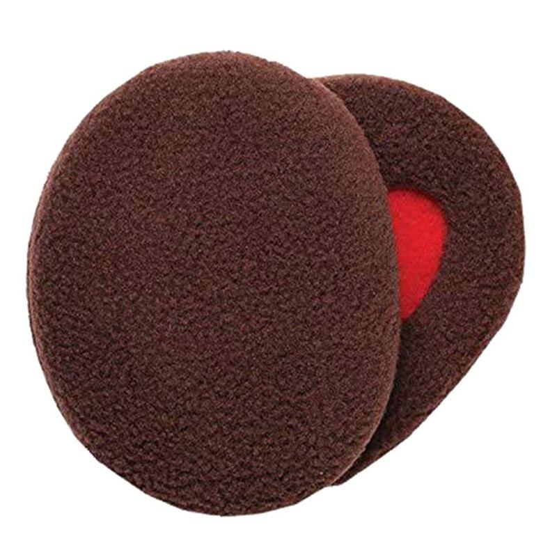 1 пара, для взрослых, для женщин, мужчин, сохраняющие тепло, зимние безрукавные теплые наушники, наушники, покрытие для ушей, Warme Oorbeschermers - Цвет: BR