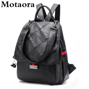 Fashion Women Bags Backpack High Quality Leather Backpacks For Teenage Girls Female School Shoulder Bag Bagpack Mochila Feminina high quality women genuine leather backpacks casual female anti theft backpack for girls shoulder bags mochila feminina bagpack