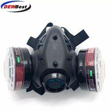 DEWBest противогаз защитный респиратор против краски пыли бурь формальдегида пестицидов распыления маска