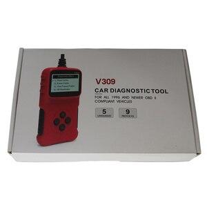 Image 5 - 2021 neueste V309 OBD2 Diagnose Scanner ELM327 12V Handheld Auto Diagnose Reparatur Werkzeuge v309 Löschen/Reset Fehler Codes reader