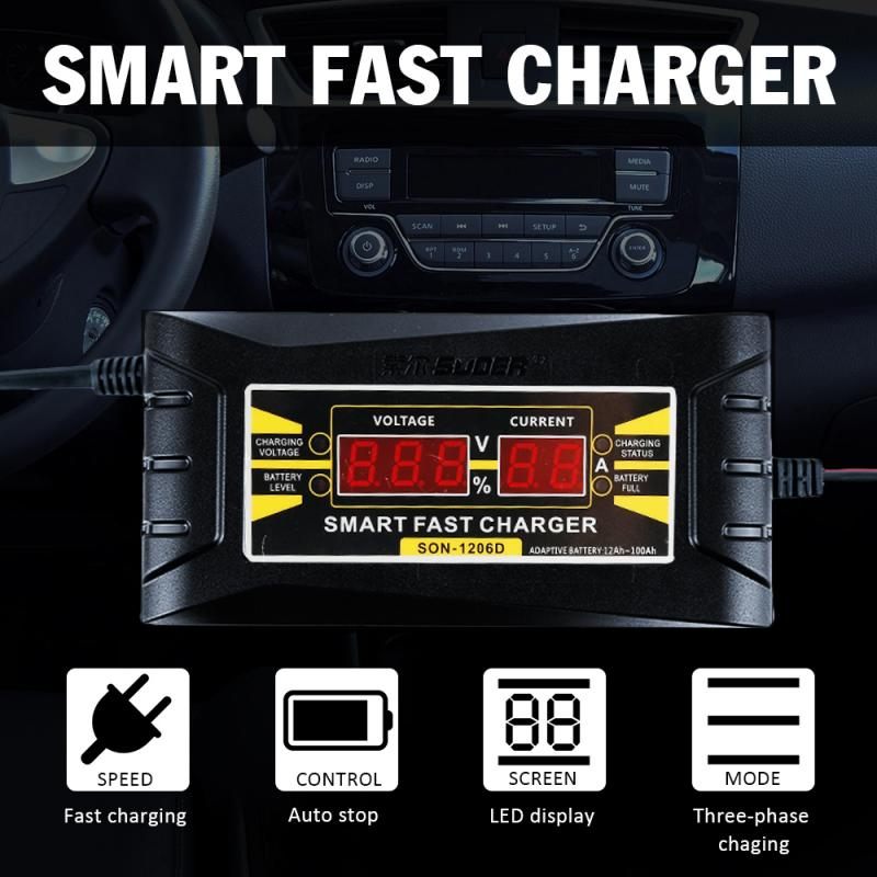 Fast Car Battery Charger