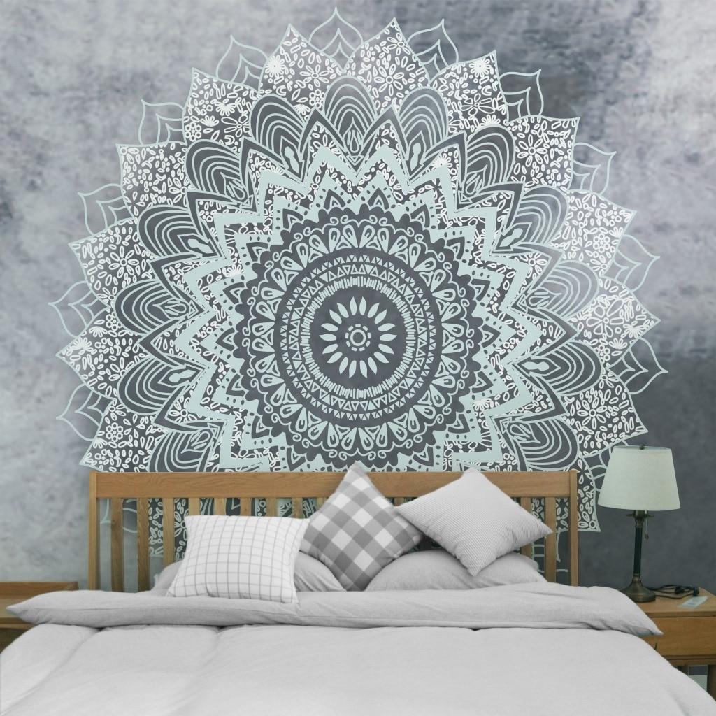 Mandala Tapestry Indian Wall Hanging Decor Blanket Yoga Mat Shawl Carpet Home Cushion Throw Home Decor Mat