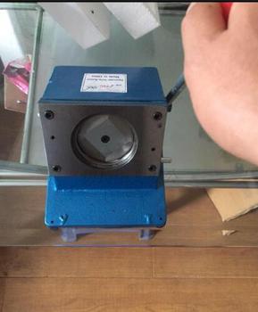 Okrągła maszyna do cięcia maszyna do cięcia papieru pcv okrągła okrągła maszyna znaczek okrągłe szablony do wykrawania znaczek instrukcja tanie i dobre opinie OSMILE
