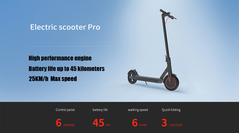 2019 Xiaomi Mi Electric Scooter Mijia M365 Pro Smart E Scooter Mini Foldable Skateboard Hoverboard Longboard Adult 45km Battery