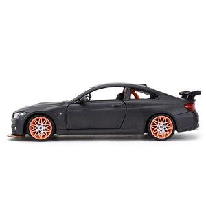 Image 5 - Maisto voiture de sport, jouet, voiture de sport, moulé sous pression statique, modèle à collectionner, BMW M4 GTS, 1:24