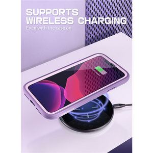 """Image 5 - IPhone 11 için 6.1 """"(2019) SUPCASE UB spor Premium hibrid sıvı silikon kauçuk + PC kapak ile ekran koruyucu"""