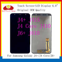 10Pcs/lot For Samsung Galaxy J4+ J4 Plus J415 J415F/J4 Core J410/J6+J6 Plus J610 LCD Display Touch Screen Digitizer Assembly