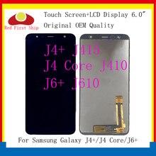 10Pcs/lot For Samsung Galaxy J4+ J4 Plus J415 J415F/J4 Core J410/J6+J6 Plus J610 LCD Display Touch Screen Digitizer Assembly origina for samsung galaxy j4 2018 j4 plus j415 j415f j410 j6 prime j6 plus 2018 j610 lcd display touch screen j4 2018 j400 lcd