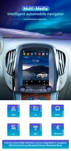 Image 4 - 4GB + 64GB Auto Android Multimedia player für buick lacrosse 2009 2012 jahr GPS Vertikale bildschirm