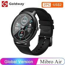 Vibro-reloj inteligente deportivo con control del ritmo cardíaco para hombre y mujer, reloj inteligente con Bluetooth, control del ritmo cardíaco, para regalo