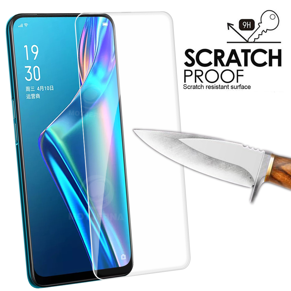 Tempered Glass For Oppo Reno 2 Z 2Z A5S AX5s AX7 Glass Screen Protector For Oppo AS5 Cover Protective Film Realme 3 Pro X Q Case