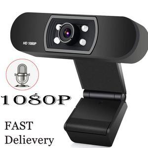 Full HD 1080P компьютерная веб-камера Встроенный микрофон с автофокусом высококлассная видео-звонки компьютерная периферийная камера для ПК ноу...