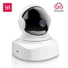 Yi Cloud Home Camera 1080P Hd Wireless Ip Security Camera Pan/Tilt/Zoom Indoor Surveillance System Night vision Bewegingsdetectie
