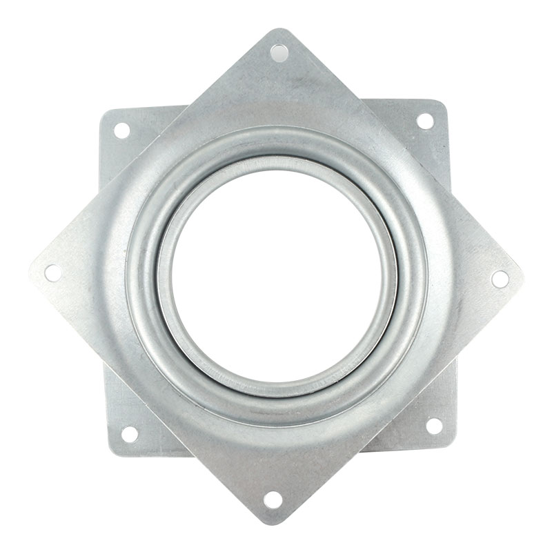New Square 360 Degree Rotating Rolling Bearing Turntable 300 Lbs Bearings Plate Suitable For Displays And Magazine Chair Racks #