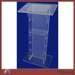Elegante acryl podium plexiglas