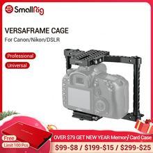 SmallRig מצלמה כלוב עבור Canon 50 60 70 80D MarkII 5D MarkIII 5DS עבור ניקון D7000 7100 7200 עבור Sony a9 DSLR מצלמה Rig 1584