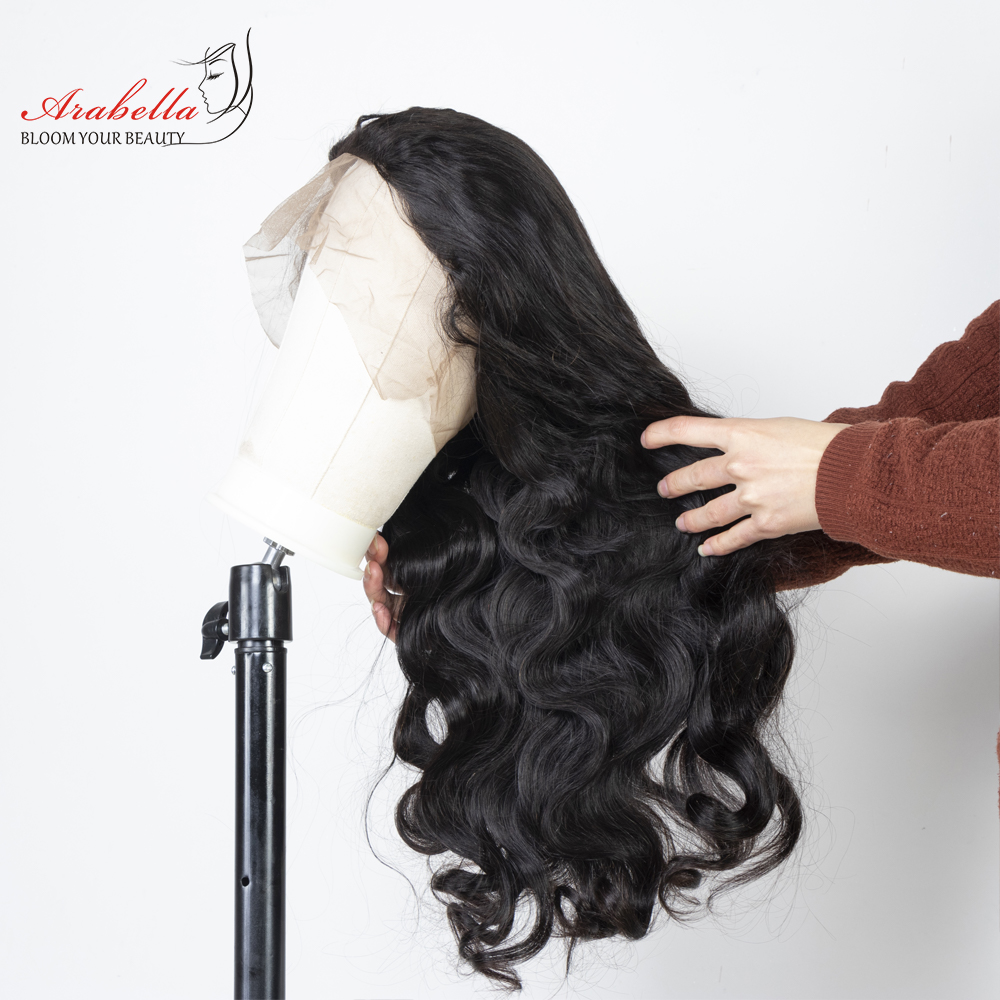 Body Wave Lace Front Wig 100% Lace Front  Wigs Natural  Hair Wigs  Arabella Pre Plucked 13*4 Front 3