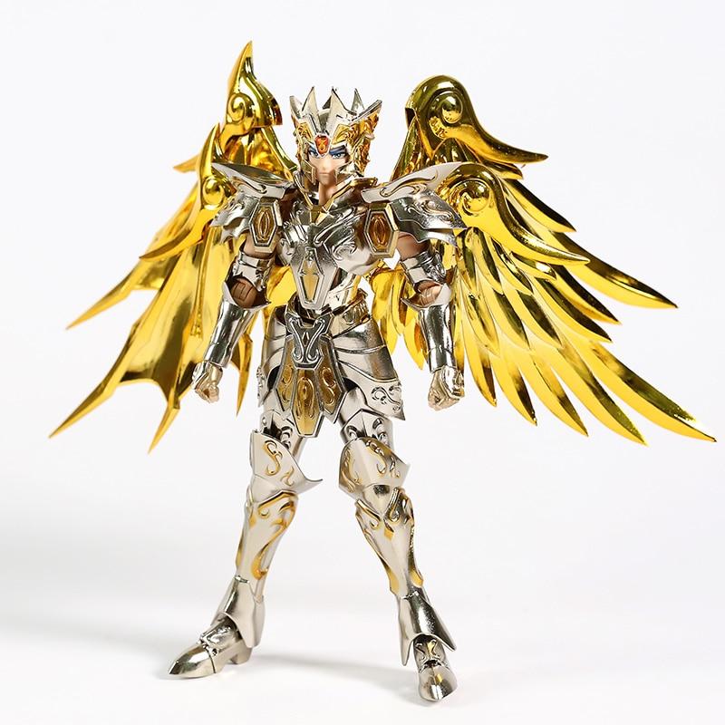 Nouveau GT grands jouets âme de dieu or EX Gemini SaGa armure en métal avec cintre en tissu mythe dieu Action figurine jouet - 3