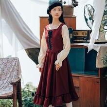Женское винтажное платье во французском стиле anbenser элегантное