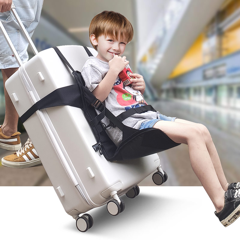 For 1 To 5  Waterproof Baby Portable Foldable Travel Carrier For Child Toddler Suitcase Seat  Luggage Chair Travel Seat For Kids