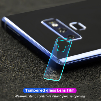 Camera Screen Protector For Samsung Galaxy A6S A8 Plus 2018 S9 S8 Plus Note 9 8 Protective Tempered Glass Back Camera Lens Film image