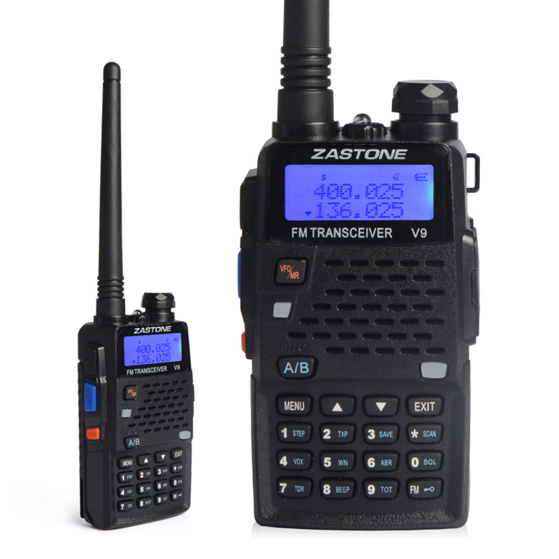 ZASTONE V9 Mini Handheld Display Walkie Talkie UHF 400-520MHz Two Way Radio Outdoor Climbing Portable Walkie Talkies