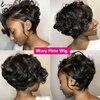 Wavy Pixie wig