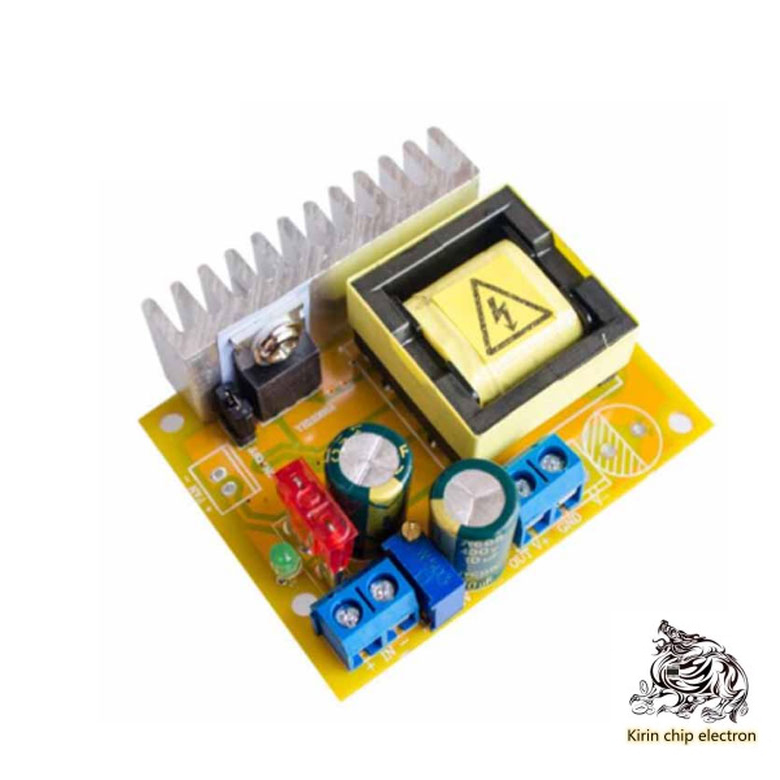 1PCS/LOT DC-DC Boost Module High Voltage ZVS Capacitor Charge Electromagnetic Gun 45-390 V 780V Adjustable Stability