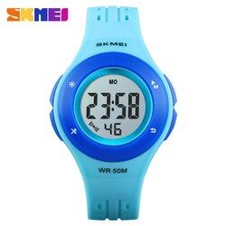 Модные Бизнес простые детские часы Топ бренд водонепроницаемый 30 метров 01455