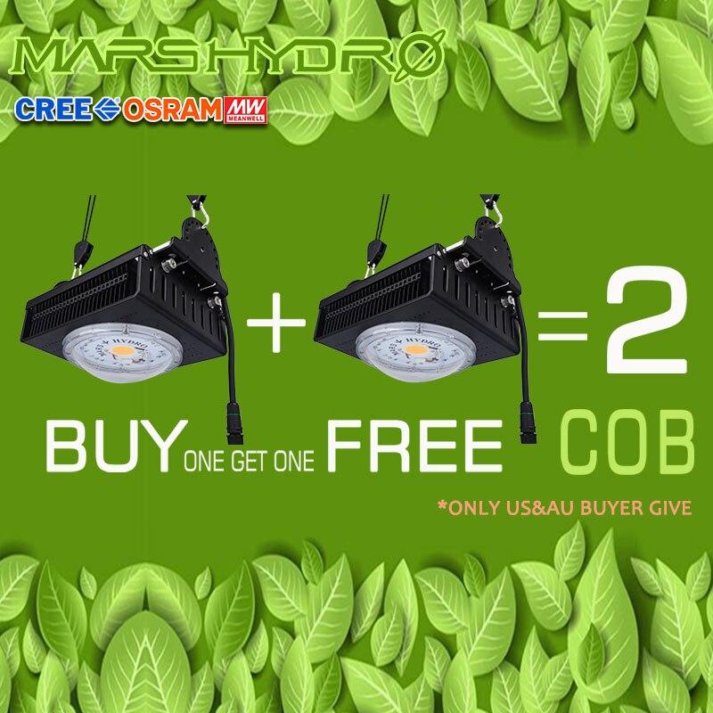 MarsHydro COB Led Grow Light Full Spectrum 300W Cree LEDs CXB3590 For Indoor Greenhouse Grow Tent  Grow Led Lights Plants