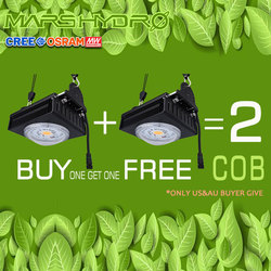 MarsHydro COB Led Grow Light full spectrum 300W Cree LEDs CXB3590 for Indoor Greenhouse Grow Tent  grow led Lights Plants