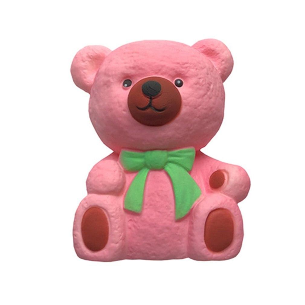 Мягкий медленный отскок сидящий медведь милый медведь игрушка медленный отскок сидящий медведь милый медведь моделирующая модель игрушки
