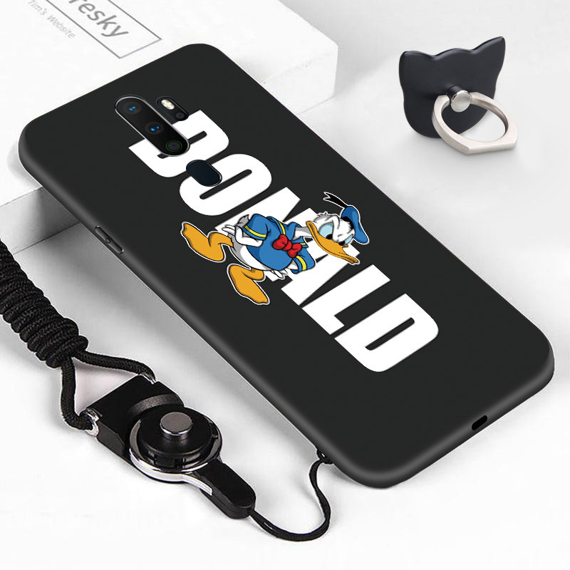 For <font><b>OPPO</b></font> <font><b>A71</b></font> A77 A79 A83 A9 2020 A5 2020 Cute Cartoon Comic Mouse Duck Bear Pattern Casing Soft Silicone TPU <font><b>Phone</b></font> <font><b>Case</b></font> Cover image