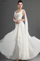 Backless Evening Dresses 2019 A line One shoulder Chiffon Beaded Long Dubai Saudi Arabic Evening Gown Prom Dresses