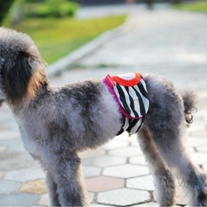 Soft Cotton Dog Physiological Trousers Pet Puppy Pants Sanitary Underwear Belly Band Diaper