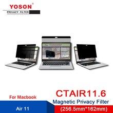 Computer Anti-Peep-Screen/peep-Protection-Film Magnetic YOSON Air-11.6