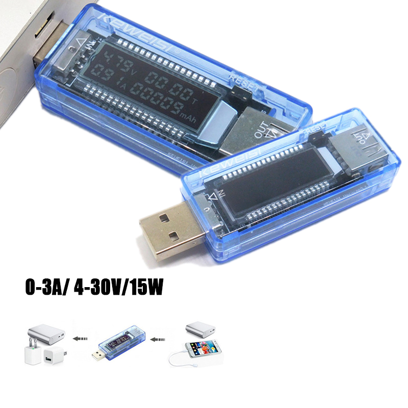 USB-тестер для измерения напряжения и емкости аккумулятора
