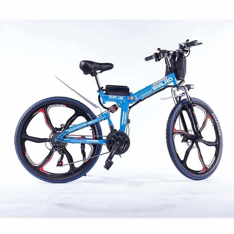 Новый продукт YTL, 26 дюймов, 48 В, 10ач, 350 Вт, литиевая батарея электрического велосипеда, ebike, светодиодный светильник