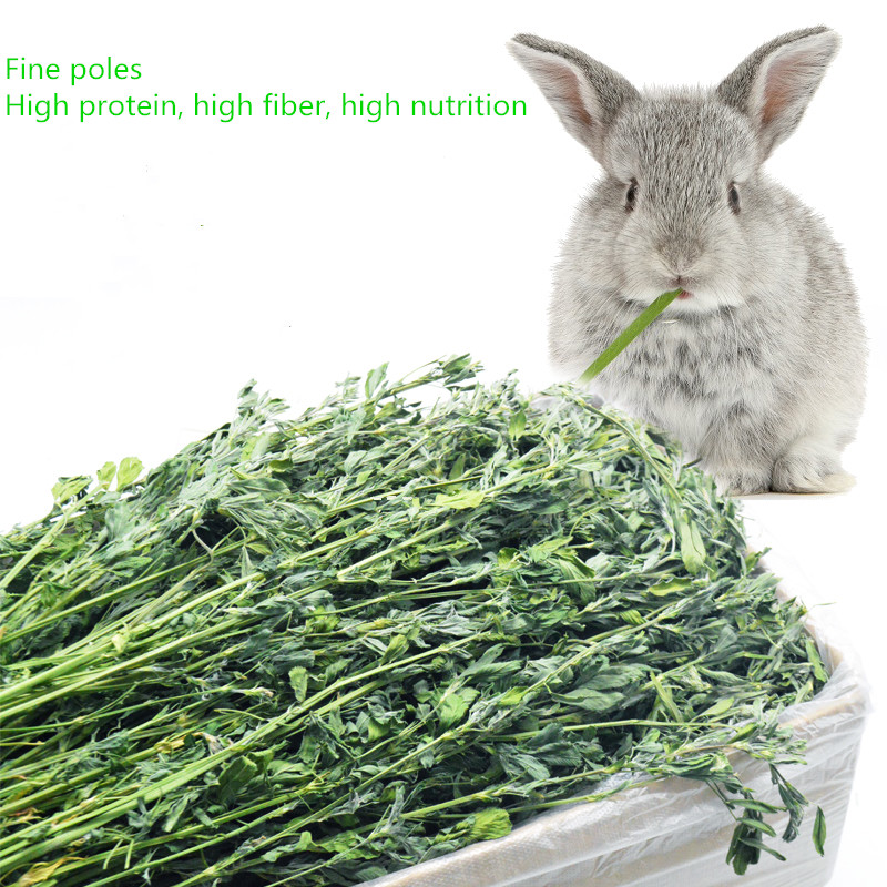 2019 New Dry Alfalfa Grass Provide Nutrition 1KG Superior Quality Feed And Bedding For Small Pets Rabbit ,Totoro, Etc