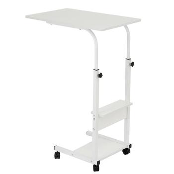 Składane biurko komputerowe kompaktowe obrotowe biurko składany stół do laptopa 60*40 *(68-83)cm stojące biurko regulowany stół do laptopa tanie i dobre opinie CN (pochodzenie) Laptop Table Density Board Laptop biurko 60x40x(68-83)cm